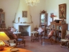 Sitting room & library