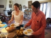 Dinning at Basunti