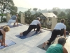 Sandra Sabatini yoga at Basunti