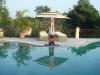 Bridget Woods-Kramer yoga at Basunti