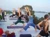 Bridget Woods-Kramer Anusara yoga at Basunti