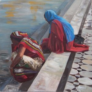 Women at the Golden Temple, Amritsar