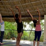 CNN on yoga retreat at Basunti, by Monica Sarkar