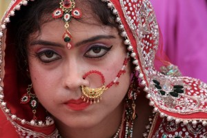 Monsoon Wedding Bride: leaving her parents home
