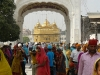 Golden Temple worshipers