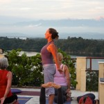 Bridget Woods Kramer yoga retreat at Basunti