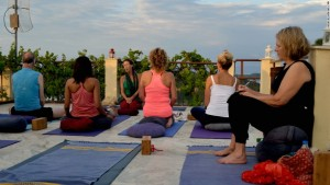 Bridget Woods Kramer Anusara yoga Basunti