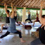 DEvon School of Yoga retreat at Basunti